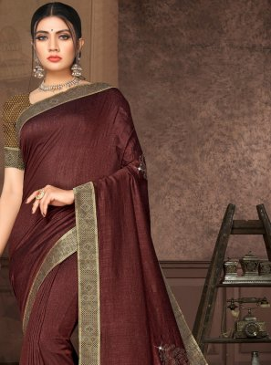 Lace Silk Casual Saree