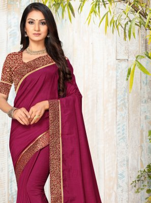 Lace Silk Trendy Saree