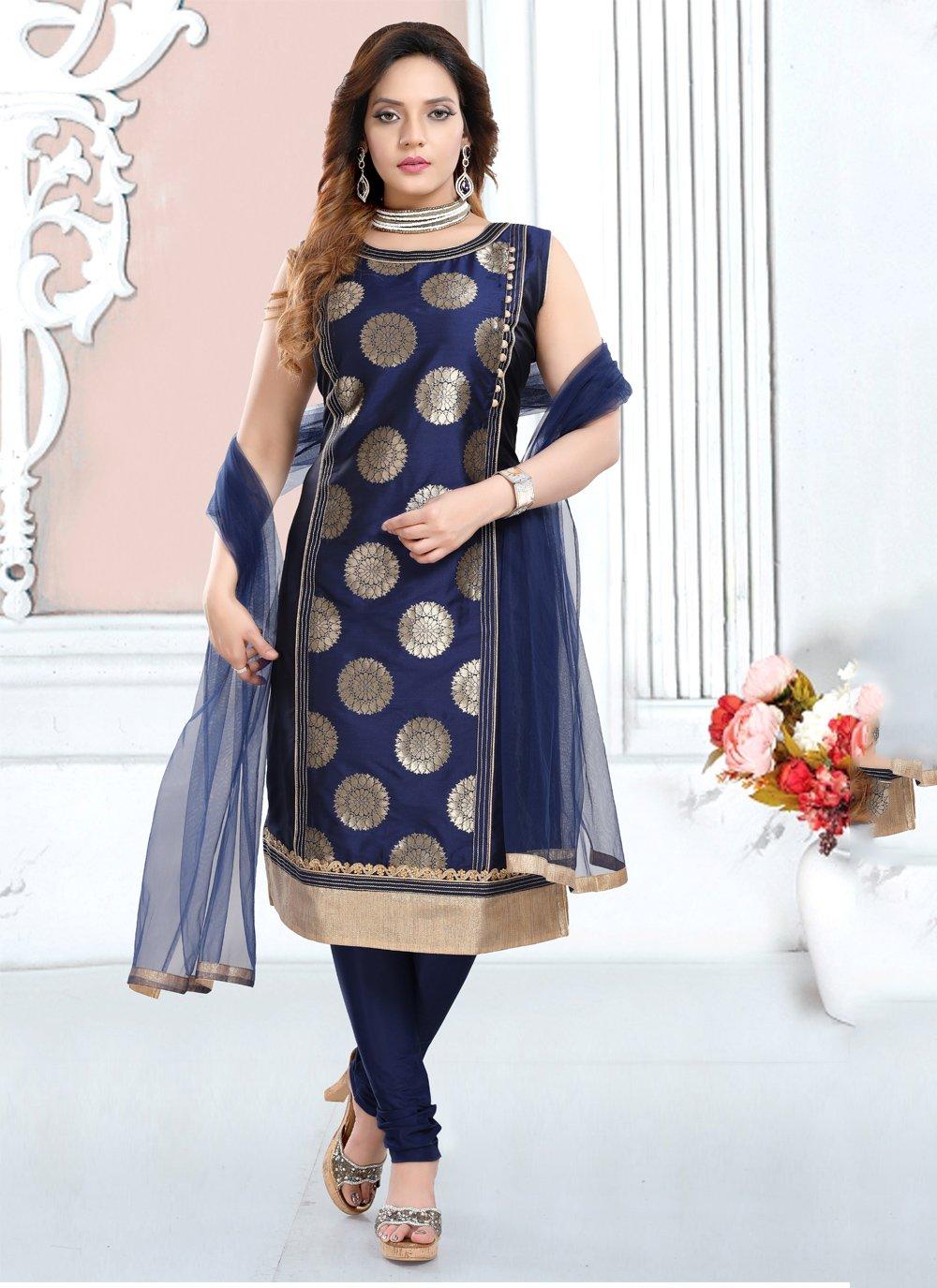 Lace Trendy Salwar Suit