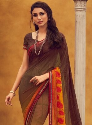 Lace Trendy Saree