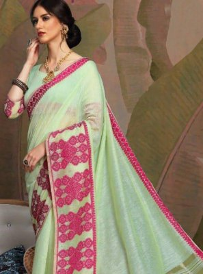 Linen Casual Saree