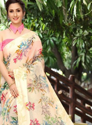 Linen Festival Classic Saree