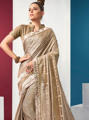 Lycra Ceremonial Classic Saree
