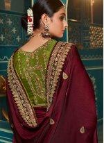 Magenta Ceremonial Classic Saree