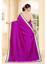 Magenta Festival Traditional Saree