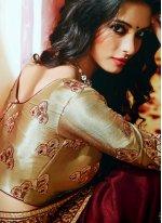 Magenta Wedding Bollywood Saree