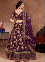 Magenta Zari Silk Designer Lehenga Choli