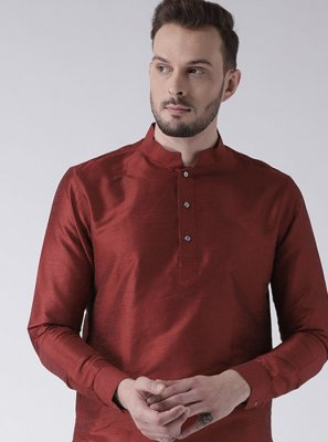 Maroon Color Kurta