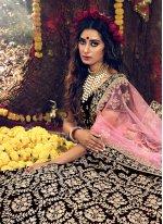 Maroon Dori Work Velvet Trendy Lehenga Choli