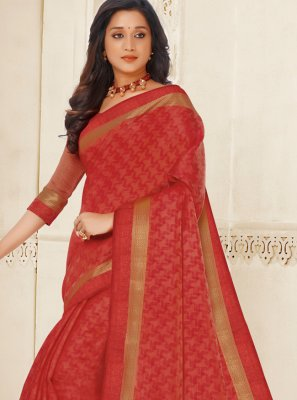 Maroon Reception Traditional Designer Saree