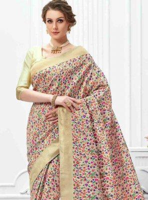 Multi Colour Art Silk Classic Saree