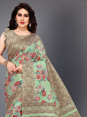Multi Colour Casual Classic Saree