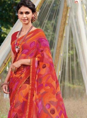 Multi Colour Casual Contemporary Saree