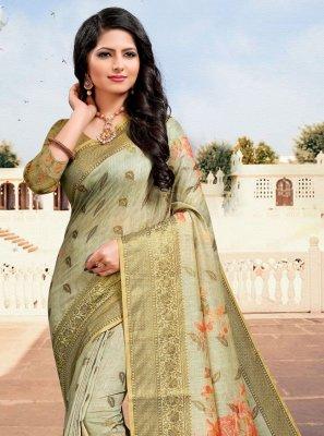 Multi Colour Ceremonial Cotton Trendy Saree
