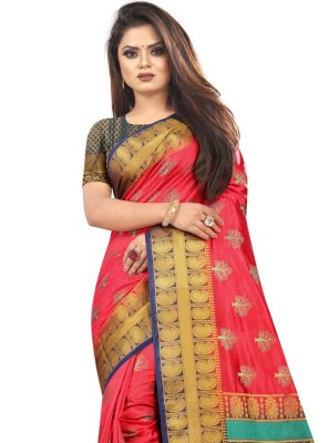 Multi Colour Classic Saree