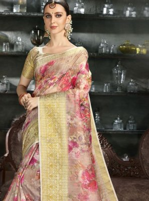 Multi Colour Color Silk Saree