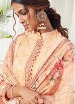Multi Colour Cotton Trendy Salwar Suit