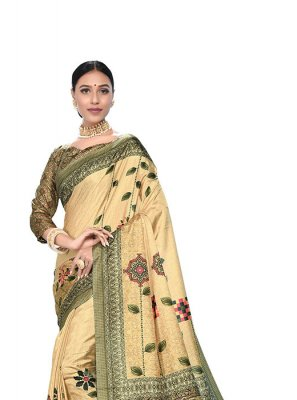 Multi Colour Digital Print Art Silk Printed Saree