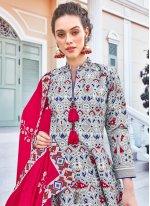Multi Colour Engagement Designer Gown