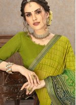 Multi Colour Fancy Fabric Classic Saree