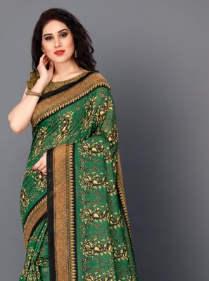 Multi Colour Festival Classic Saree