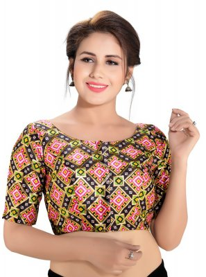 Multi Colour Festival Designer Blouse