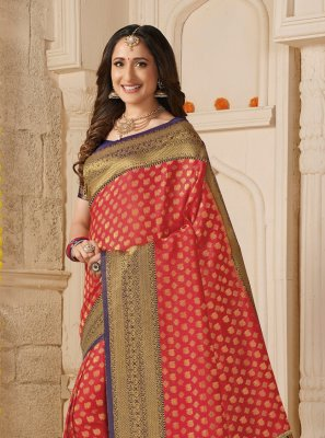 Multi Colour Festival Silk Trendy Saree