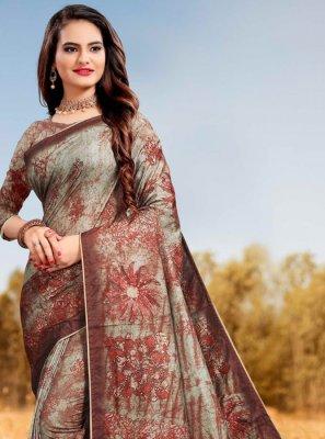 Multi Colour Party Classic Designer Saree
