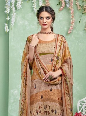 Multi Colour Party Designer Salwar Suit