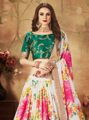Multi Colour Party Lehenga Choli