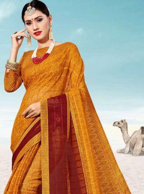 Multi Colour Party Silk Classic Saree