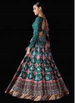 Multi Colour Patola Print Reception Trendy Lehenga Choli