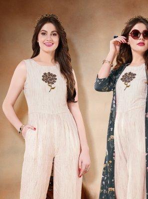 Multi Colour Print Salwar Suit
