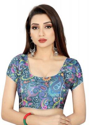 Multi Colour Printed Blouse