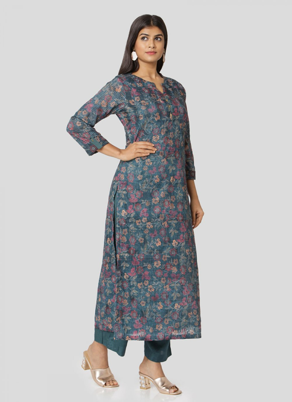 Multi Colour Salwar Kameez