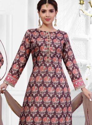 Multi Colour Sangeet Salwar Suit