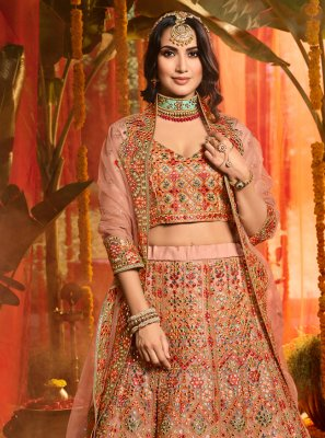 Multi Colour Trendy Lehenga Choli