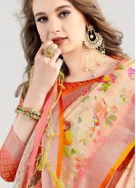 Multi Colour Weaving Silk Saree