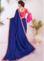 Multi Colour Zari Silk Designer Saree