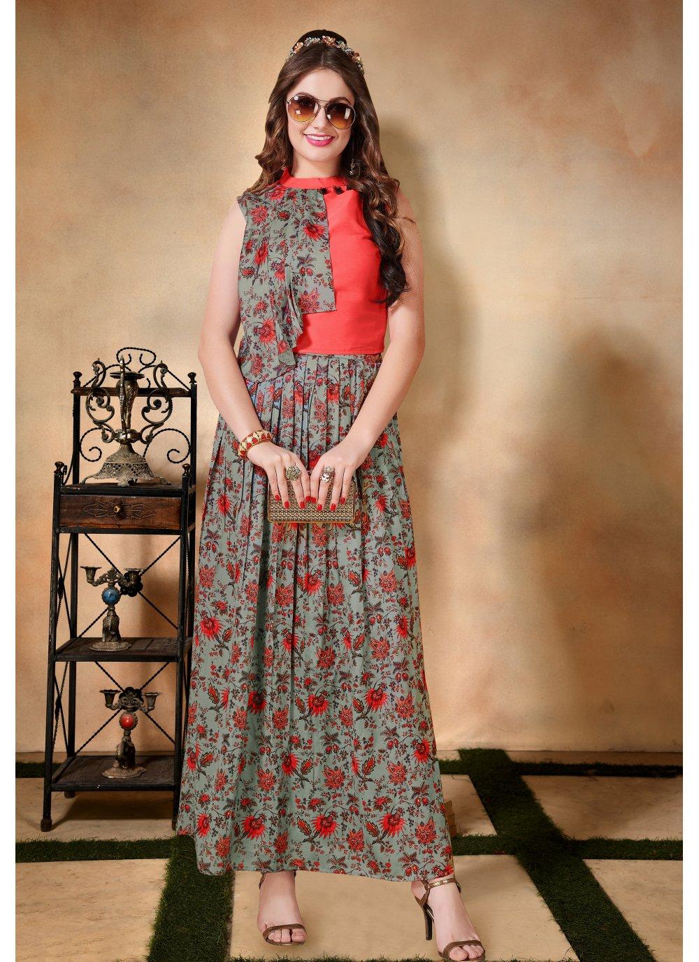 Muslin Multi Colour Printed Salwar Suit