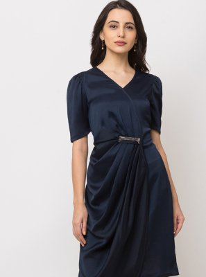 Navy Blue Casual Party Wear Kurti