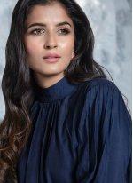 Navy Blue Color Designer Lehenga Choli