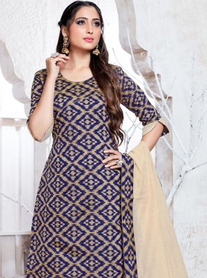 Navy Blue Party Salwar Kameez