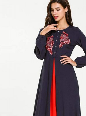 Navy Blue Salwar Suit