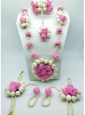 Necklace Set Moti in Pink