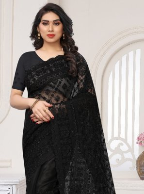 Net Contemporary Saree