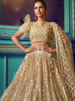 Net Party Designer Lehenga Choli