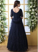 Net Reception Designer Gown