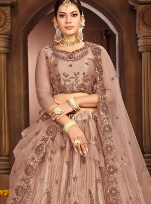 Net Reception Designer Lehenga Choli