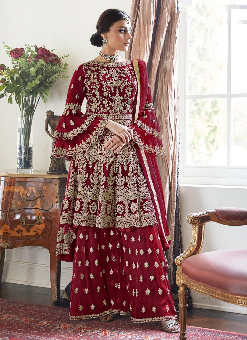 Net Reception Designer Pakistani Salwar Suit